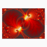 Infernal - Fractal Art Card