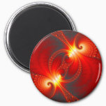 Infernal - Fractal Art Magnet