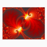 Infernal - Fractal Art Postcard