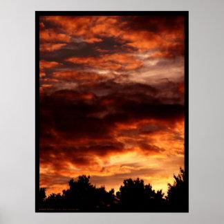 Infernal Sky Poster