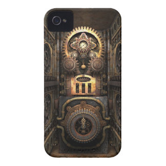 Infernal Steampunk Contraption Case-Mate iPhone 4 Case