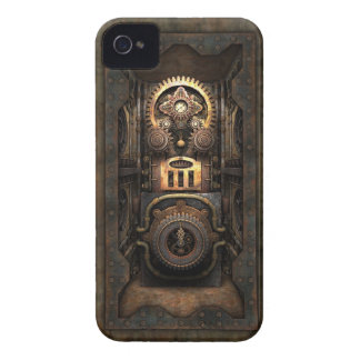 Infernal Steampunk Contraption (Enclosed) iPhone 4 Case