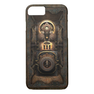 Infernal Steampunk Contraption (Enclosed) iPhone 7 Case