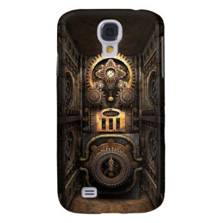 Infernal Steampunk Contraption Galaxy S4 Covers