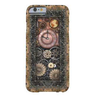 Infernal Steampunk Timepiece #2B Vintage Steampunk Barely There iPhone 6 Case