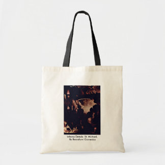 Inferno Details: St. Michael Tote Bag
