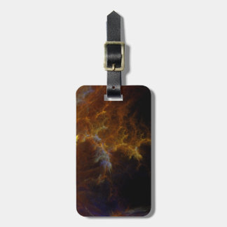 Inferno Fractal Flame Luggage Tag