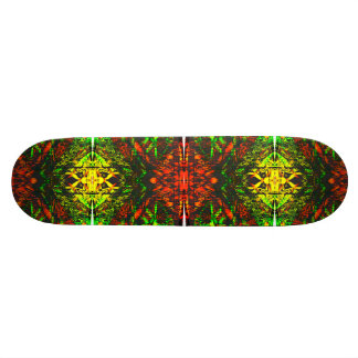 Inferno hell Skateboard Deck Psychedelic Art