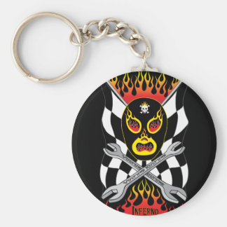 Inferno Luchador Mexican Wrestler Keychain