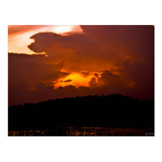 Inferno Sunset Postcard