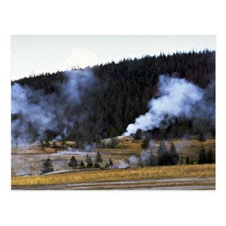 Inferno, Yellowstone National Park, California Postcard