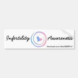 Infertility Awareness - Destination:BABY on FB Bumper Sticker