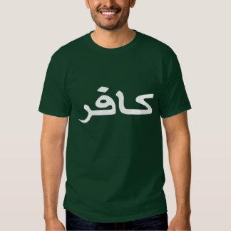 infidel arabic script shirt