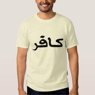 infidel arabic script t shirt