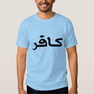 infidel arabic script tees