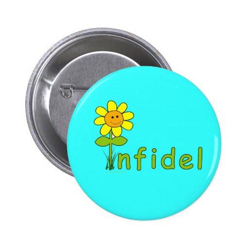 Infidel daisy button