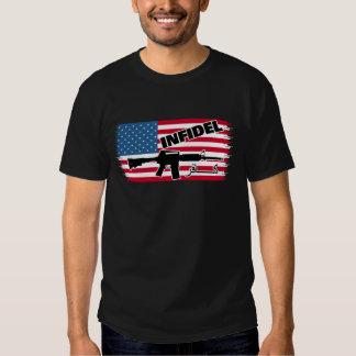 Infidel Infidel Flag Shirt