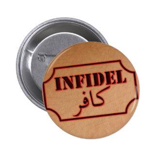 Infidel (kafir) pinback button