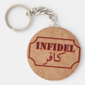 Infidel Keychain
