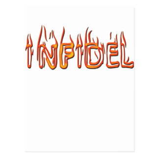 infidel postcard