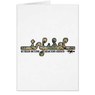 Infidel- Ruthless Dictator Relocation Services Card