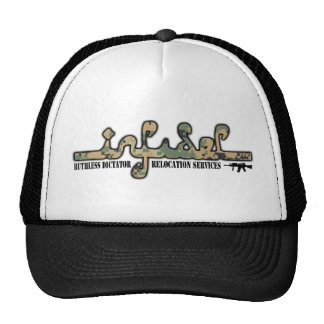 Infidel- Ruthless Dictator Relocation Services Trucker Hat