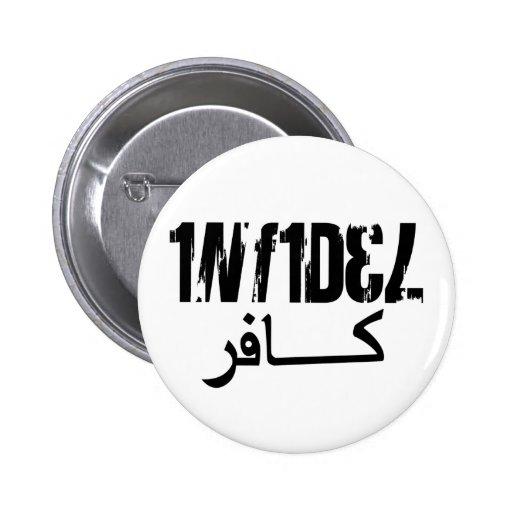 Infidel (Style 7) 2 Inch Round Button