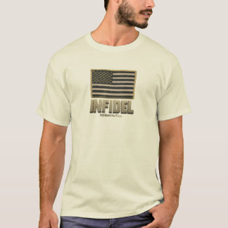 Infidel USA (Desert tan) T-Shirt