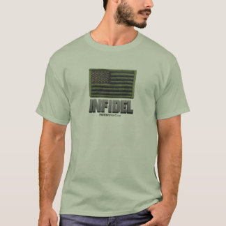 Infidel USA (OD Green) T-Shirt