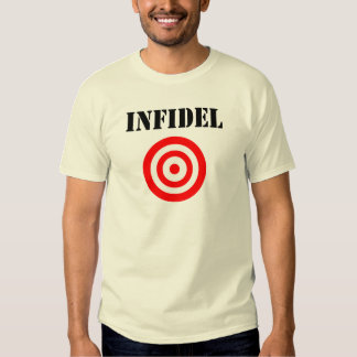 Infidel (with target) shirt