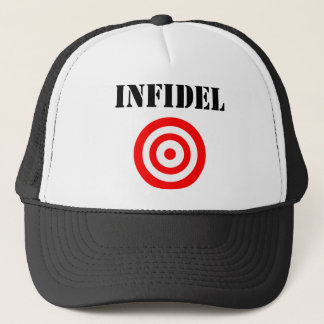 Infidel (with target) trucker hat