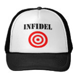 Infidel (with target) trucker hats