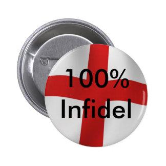 Infiel de Inglaterra el 100% Pins