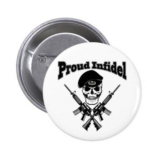 Infiel orgulloso (cráneo) pin