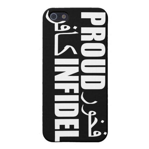 Infiel orgulloso iPhone 5 fundas