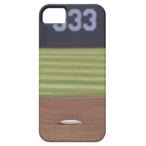 Infield, second base, outfield, and 333 foot iPhone 5 cover