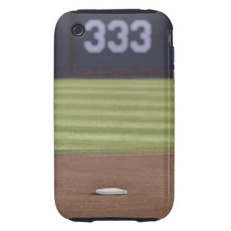 Infield, second base, outfield, and 333 foot iPhone 3 tough cover