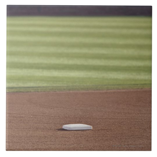 Infield, second base, outfield, and 333 foot ceramic tile