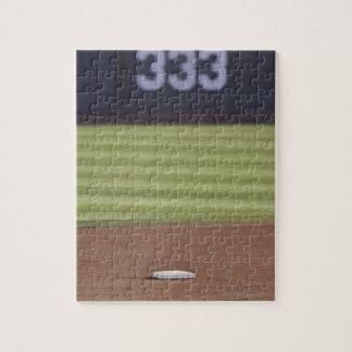 Infield, second base, outfield, and 333 foot puzzle