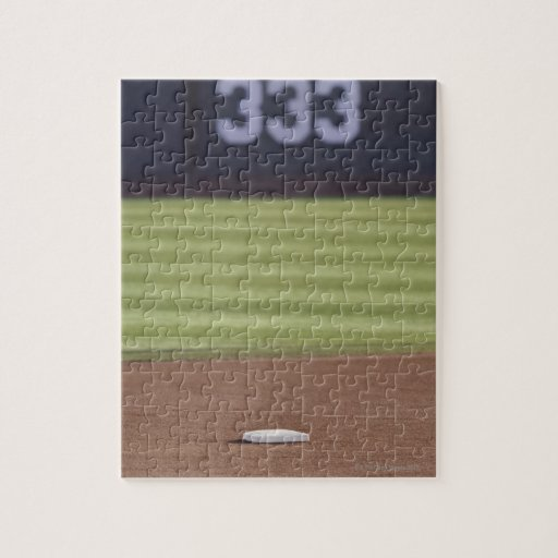 Infield, second base, outfield, and 333 foot jigsaw puzzles