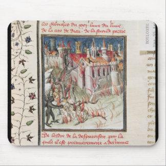 """Infierno, de """"De Civitate Dei"""" por St Augustine Tapetes De Ratón"""