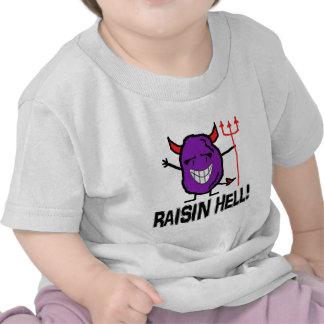 Infierno de la pasa camisetas
