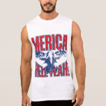 Infierno de MERICA sí Camisetas Sin Mangas