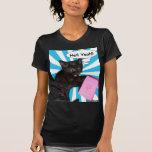 ¡Infierno del gatito del hippy sí!! Regla de los g Camiseta