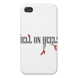 Infierno en los talones (piernas/cuernos) iPhone 4/4S fundas