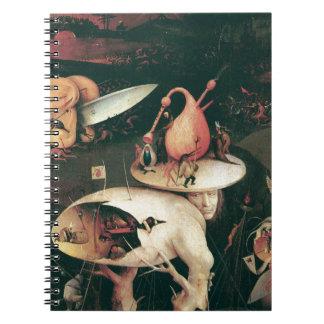 Infierno. Hieronympous Bosch. 1503-1504 Cuaderno