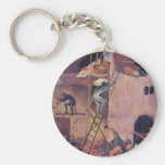 Infierno., por Hieronymus Bosch (la mejor calidad) Llavero
