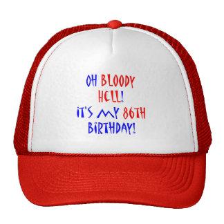 Infierno sangriento 86 gorros