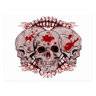 Infierno sangriento postal