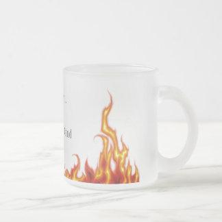 Infierno Taza De Café Esmerilada